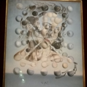 My favorite Dali painting, Galatea of the Spheres.